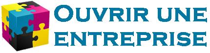 Ouvrir une entreprise Logo