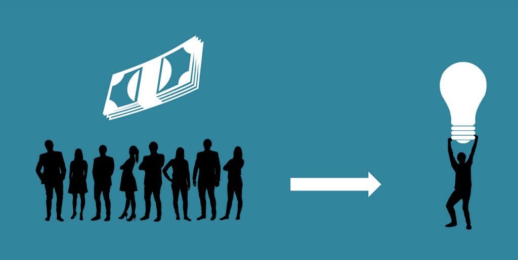 Schéma investissement dans le crowdfunding